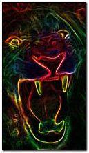 Lion neon