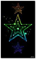 Красочная звезда