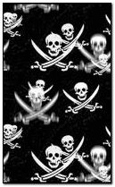 Falling skulls