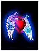 corazon con alas
