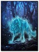 Serigala animasi