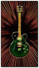 Neon-Gitarrist