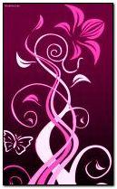 Bunga Abstrak