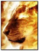 leon de fuego