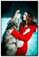 เด็กหญิงและหมาป่า