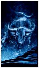fiery bull