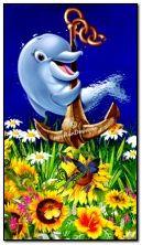 Śliczny delfin