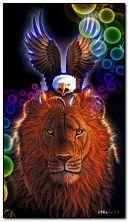 狮子和神鹰