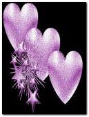 Trái tim màu tím