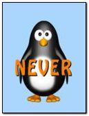naughty penguin