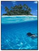 Blaue Insel