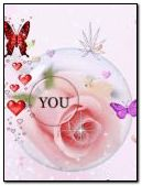iloveu butterfly