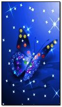 شينيغ فراشة زرقاء