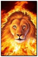 Sư tử với lửa
