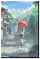 I walk alone.
