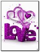 الرسوم المتحركة PURPLE LOVE
