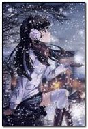 anime in snow