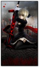 أنيمي فتاة المحارب