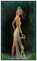 fantasy snake girl