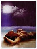 rain on beach