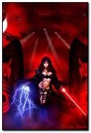 magischer weiblicher Krieger