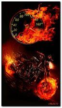 Motor-on fire