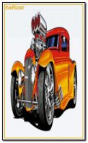 hot road naranja 240x400