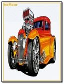 hot road naranja 240x320