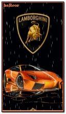 lamborghin naranja 360 b