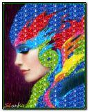 Mädchen mit Farben 2