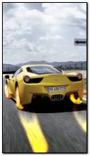 Flaming ferrari