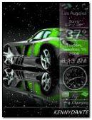 my lil gren car
