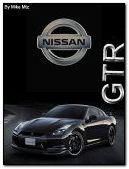 Nissan GTR 240x320