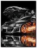 Porsche Flame