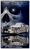 mustang and skull eff