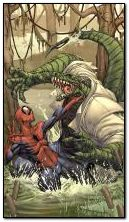 Spiderman vs Lagarto