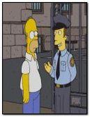 荷马踢警察坚果