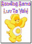 Yellow Carebear