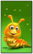 Mignon petit Caterpillar