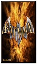 batman logo fire 360