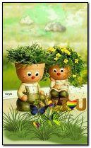 in love pot