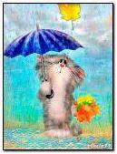 Mùa thu, mưa, lá rơi