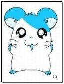 Animated Hamtaro Neon Color