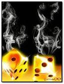 animated smoke and dice