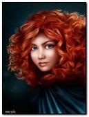 红头发的女孩