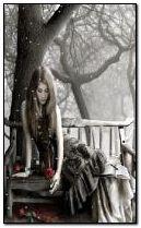 Chica solitaria