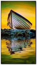 barca animata e marina
