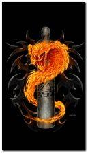 serpente di fuoco