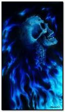 Szkielet w ogniu