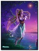 Fantasy Greek Goddess Venus is Flying for ARTEMIDA